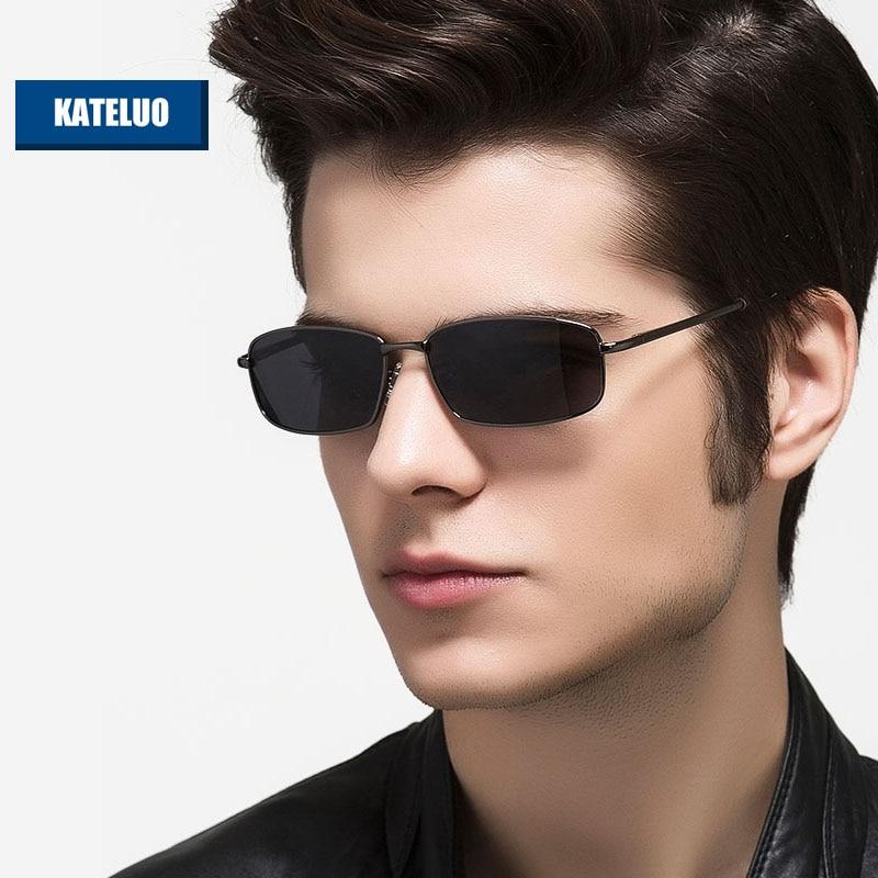 KATELUO Brand Designer Sunglasses Polarized Lens Men Sun Glasses Mirror Male Eyewears Accessories gafas Oculos de grau 2236