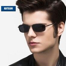 KATELUO lunettes de soleil pour hommes, avec lentille polarisée, miroir, pour la conduite, 2020