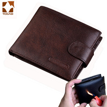 Mens wallet made of genuine leather Short Hasp carteira masculina Purse 2019 luxury male billetera hombre erlek czdan