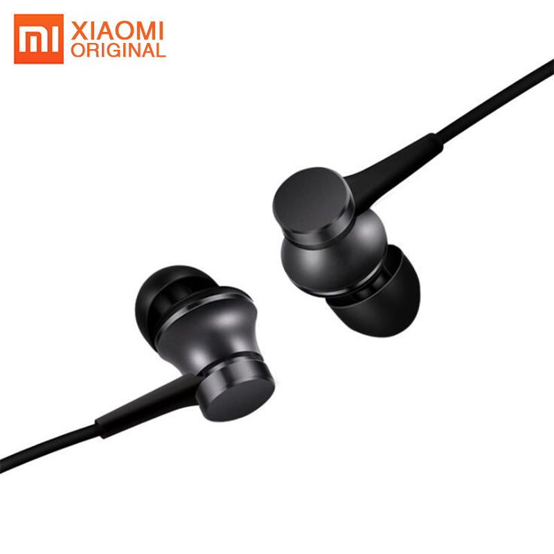 Xiaomi Earphone Mi Original Piston 3 Fresh Youth Version In-Ear 3.5mm With Mic Earphones for iPhone iPad Samsung Xiaomi Phone 50pcs wholsale genuine honor am12 engine earphone with mic 3 keys drive by wire 3 5 mm earphone for iphone 6 xiaomi mobile phone
