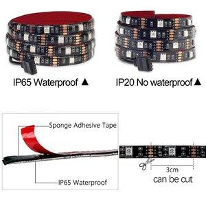 Image 4 - DC5V USB LED streifen 5050 RGB RGBW RGBWW 50CM 1M 2M TV Hintergrund Beleuchtung Flexibe LED streifen klebeband IP20/IP65 wasserdicht