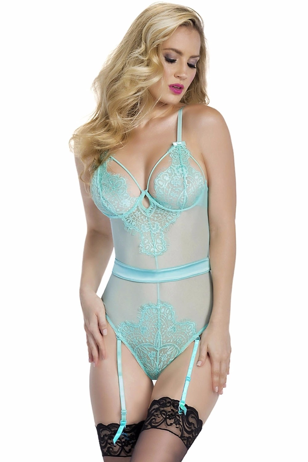 Light-Blue-Eyelash-Lace-Teddy-with-Garters-LC33004-4-1