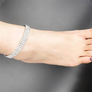 Vintage Anklets for Women Bohemian Crystal Ankle Bracelet Cheville Barefoot Sandals Pulseiras Women Tobilleras Foot Leg  Jewelry 1