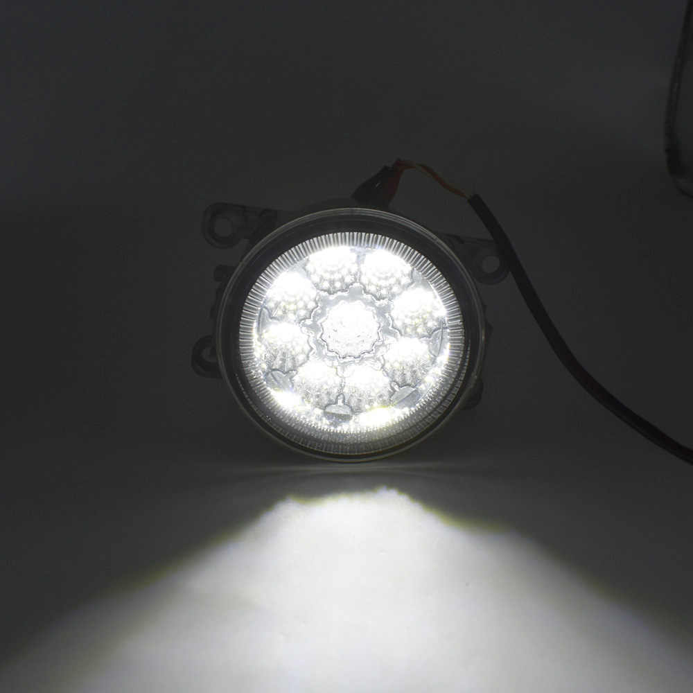 2PCS For Opel Vectra C 2002-2008 H11 Car Halogen Bulb Fog Light DRL Daytime Running LED Lamp 12V Light Accessories
