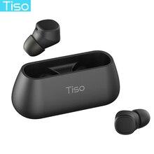 Тисо i4 Bluetooth 5,0 наушники СПЦ правда Беспроводная стерео 3D наушники Спорт IPX5 водонепроницаемый гарнитура с двойным микрофоном