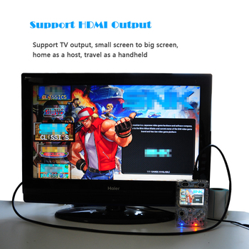 """3.5"""" Screen Retro Handle Console For Raspberry pi 3 B/B+ built-in over 10000 games 1"""
