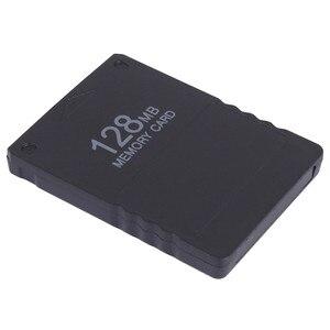 Image 3 - Tarjeta de memoria de 128MB, 64MB, 32MB y 16M, módulo de almacenamiento de datos de juego para Sony PS2, Playstation 2, protector de proceso de tarjeta extendida de 128m