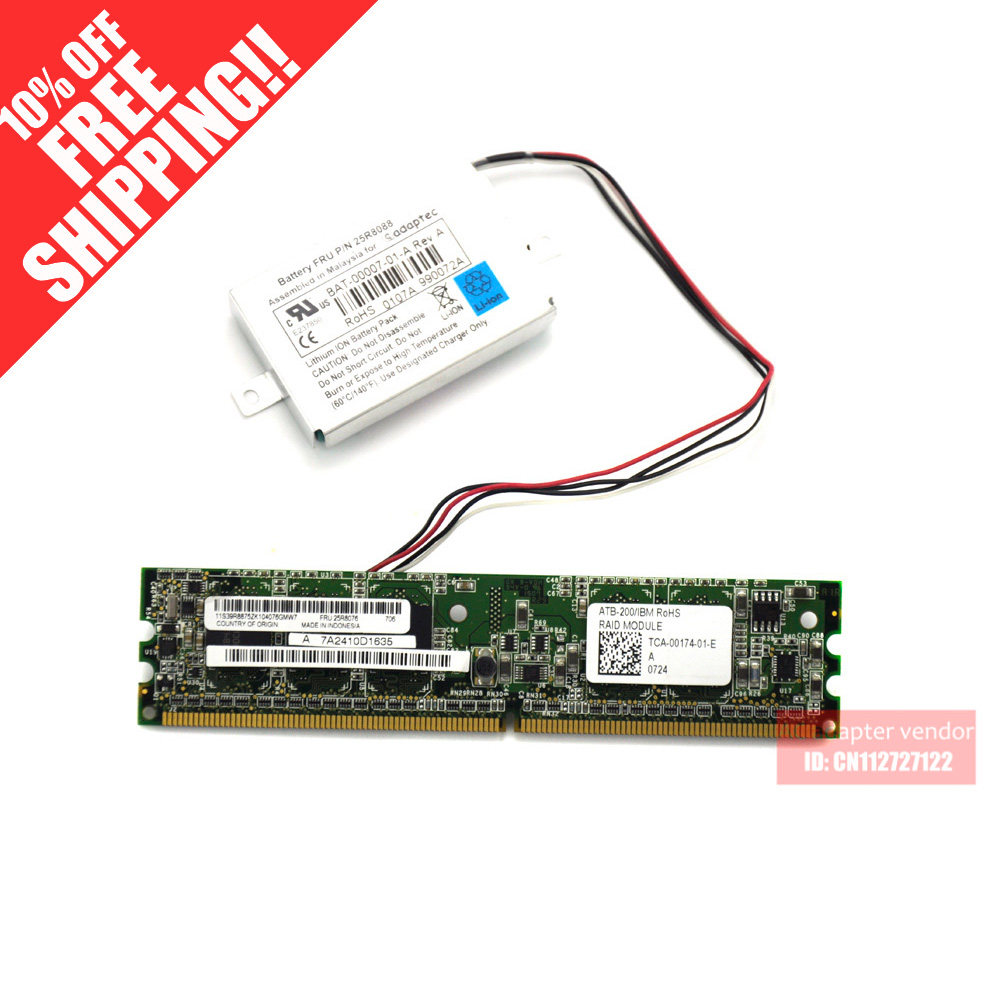 цена на FOR IBM X3400 X3500 X3650 card 25R8076 X3550 Server 8K array 25R8088