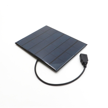 6 в 3,5 Вт солнечная панель портативная мини Sunpower DIY модульная система для солнечной лампы Аккумуляторы для игрушек зарядное устройство для телефона 6 в ватт вольт