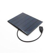 Panel Solar portátil de 6 V y 3,5 W, Mini Sistema de módulo de energía Solar artesanal para lámpara Solar con batería, juguetes, células de cargador de teléfono de 6 V y voltios