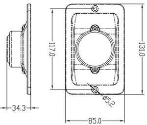 Image 5 - 白色 Led マリンボートヨットナビゲーションライト正方形のステンレス鋼信号ランプ防水 DC 12 ボルト