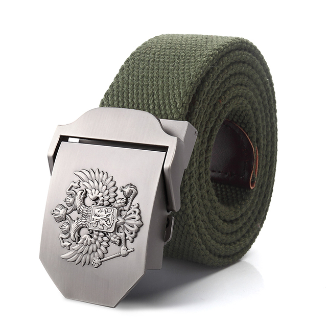 Alloy buckle military men Belts 3