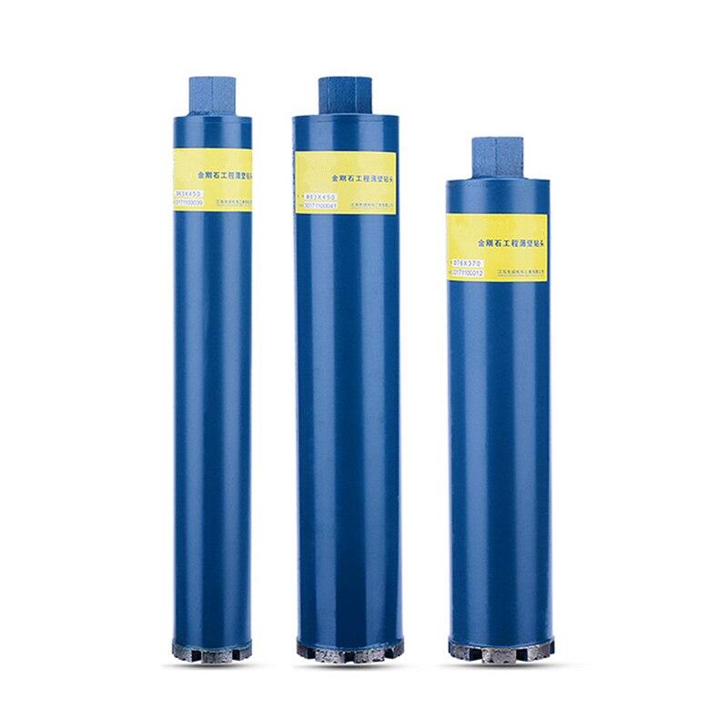83-200mm Diamant Béton Sec Perforateur Foret Maçonnerie Forage Pour L'installation Air Climatisé Mural Marbre Outils De Forage