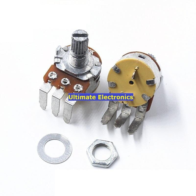 2 шт. потенциометр 148 Тип с переключателем B500K, лампа с затемнением, переключатель скорости, потенциометр, изогнутые ножки