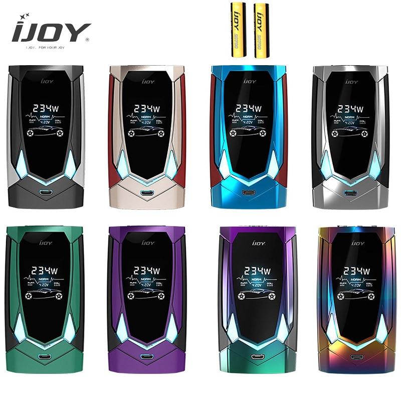 D'origine Vaper IJOY AVENGER 270 Mod Double 20700 Batterie Mod Commande Vocale Électronique Cigarettes 234 W PD270 Vaporisateur VS SMOK Mod
