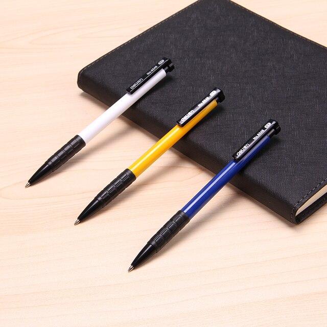 10Pcs/set Press Ball Pen Roller Ball Pen 0.7mm Ballpoint Pen for Students Stationery Office School Supplies 5