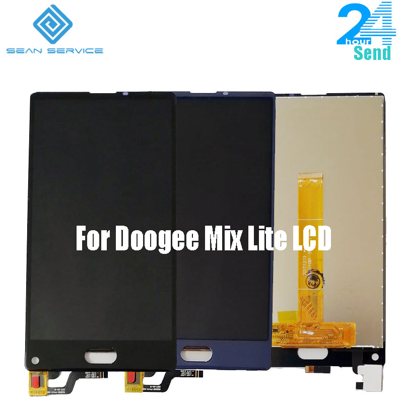 "100% Original For Doogee Mix Lite LCD Display+Touch Screen 5.2"" Digitizer Assembly Replacement +Tools  For Doogee Mix Lite(China)"