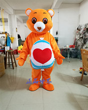 Care Bear Panda Mascot Costume Birthday Party Fancy Dress Adults Size Halloween Factory Custom