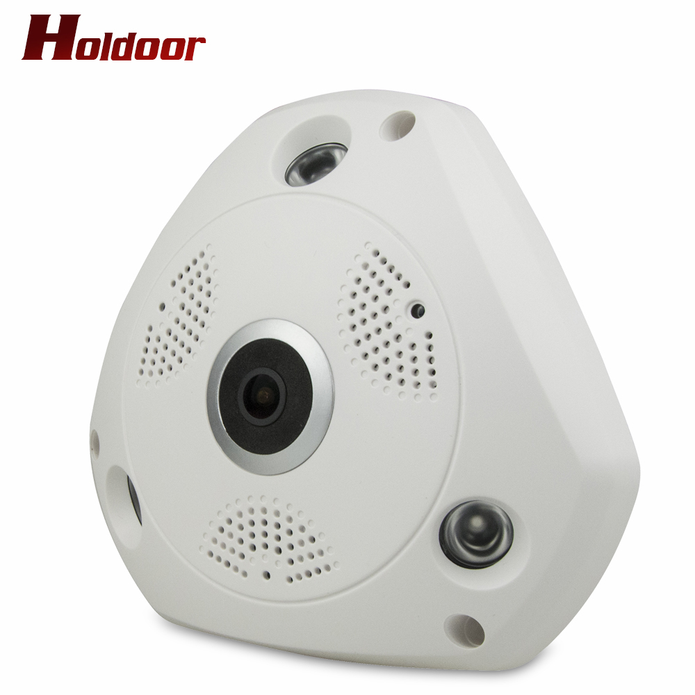 3D VR Camera 360 Degree Panoramic IP Camera 1536P HD 3MP FIsheye WIreless Wi-fi Camera IP SD Card Slot Multi Viewing Mode Home erasmart hd 960p p2p network wireless 360 panoramic fisheye digital zoom camera white