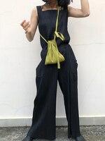 Дизайнерские складывающиеся штаны на лямках, бесплатная доставка