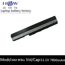 7800MAH battery for Asus K52 K52J K52JB K52JC K52JE K52JK K52JR K52N K52D K52DE K52DR K52F K62 K62F K62J K62JR  K52IJ K52F brand new laptop lcd video cable for asus k52 k52f k52jr k52je k52n series 15 6 ccfl lcd lvds cable 1422 00rl000