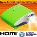 Высокое качество мини-проектором микро-hdmi usb-тв-тюнер для дома-используется PS2 Wii Xbox из светодиодов видеопроекторы Proiettore