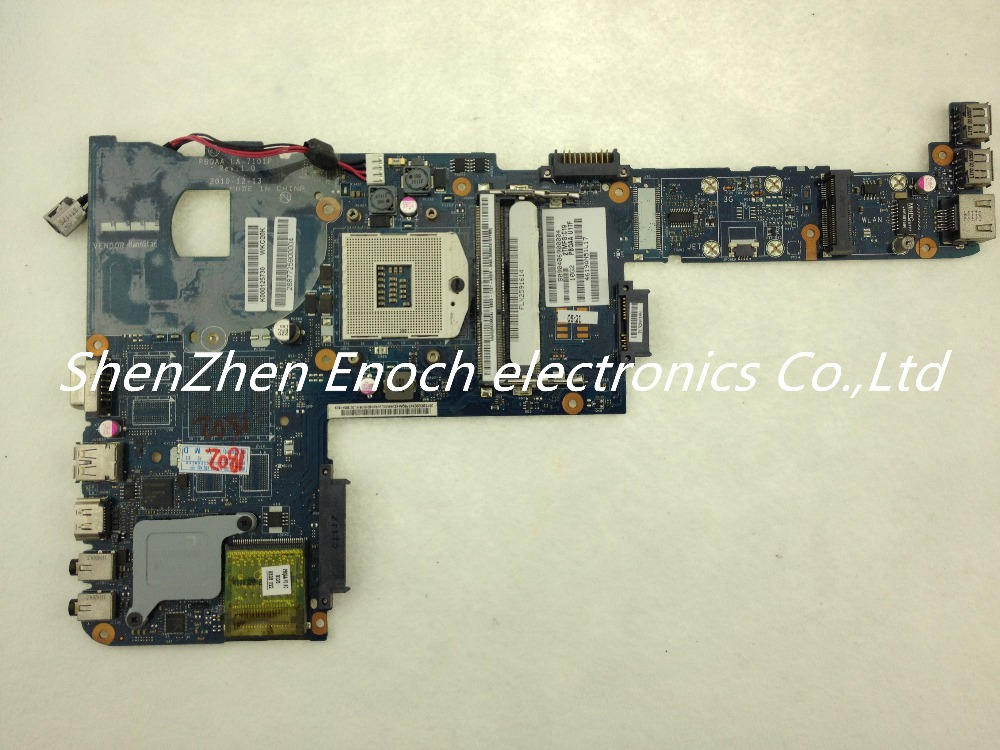 For Toshiba satellite P700 P740 P745 laptop MotherboardK000125730 PBQAA LA-7101P  stock No.999