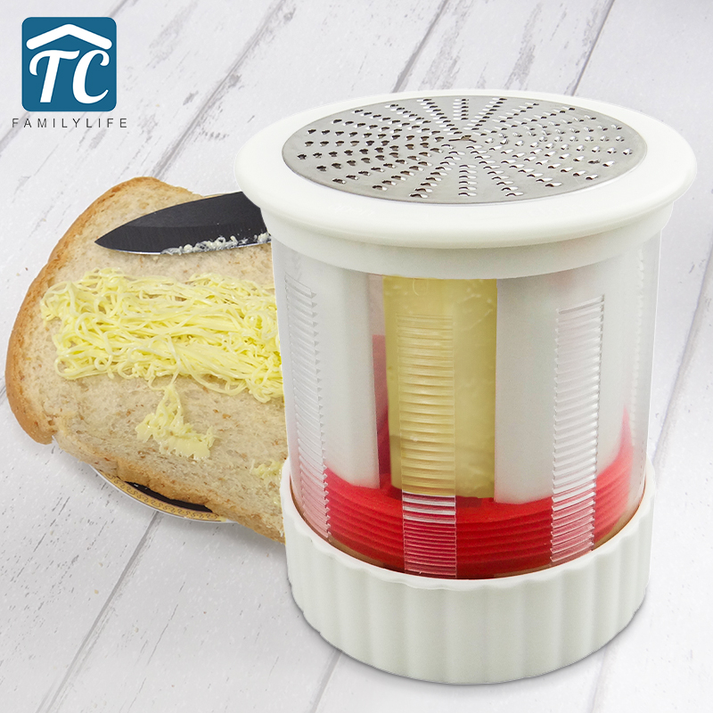 Stainless Cheese Grater Butter Mincer Grinder Baby Food Supplement Mill Cheese Shredder Slicer Baking Kitchen Tool