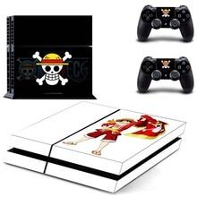 One Piece Vinyl Skin Sticker For Sony PS4
