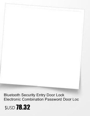 Bluetooth Security Entry Door Lock Electronic Combination Password