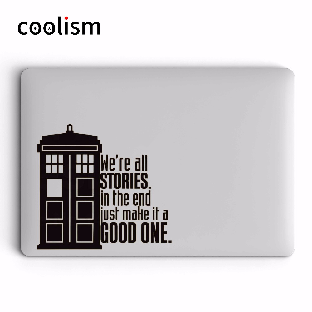 Aliexpress com : Buy Doctor Who Tardis Vinyl Laptop Sticker for Apple  Macbook Decal Pro Air Retina 11 12 13 14 15 inch HP Mac Surface Book Skin  Decal
