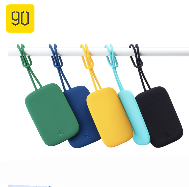 90FUN Colorful Silicone Baggage Tag Portable For Suitcase Luggage Bag Tag Anti-lost Writing Label Bag Parts Accessories