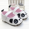 2016 Primavera y el Verano de Estilo Infantil Baby Girl Shoes patrón animal de la historieta Zapatos de Bebé de Cuero de LA PU
