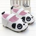 2016 a Primavera Eo Verão Sapatos Menina dos desenhos animados teste padrão animal do Estilo Do Bebê Infantil Bebê Sapatos De Couro PU