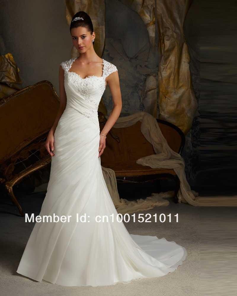 Vestido de noiva 2017 sereia sexy wedding dress cheap lace for Cheap lace mermaid wedding dresses