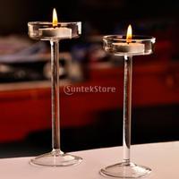 10 x Wedding Candelabra Floor Stand Tea Light Tealight Candle Holder Home Wedding Decorative 11/15/19cm