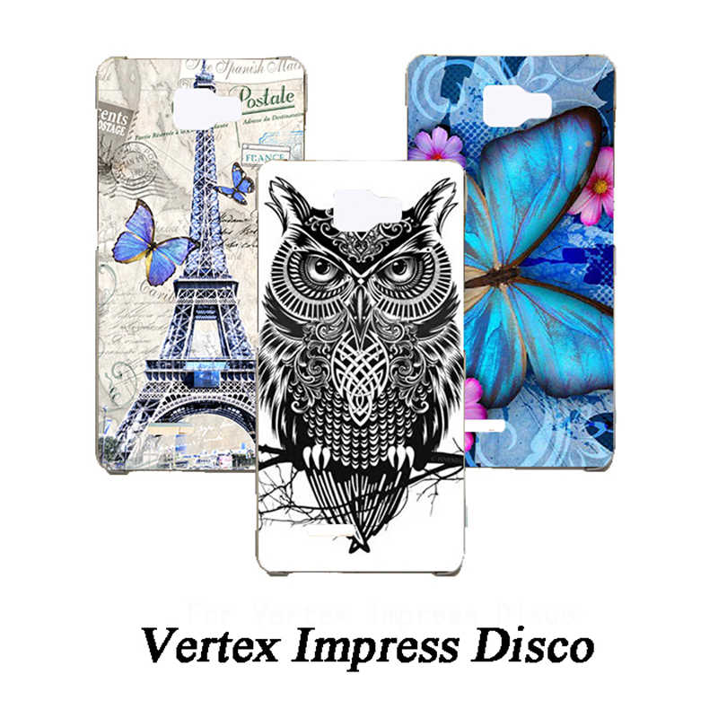 Nieuwe Schilderen Telefoon Case voor Vertex Impress Disco TPU Siliconen Cover Mode Cases voor Vertex Impress Disco cover cases