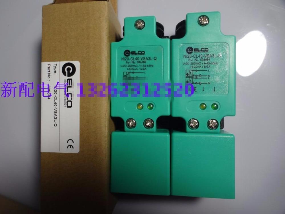 все цены на Original new 100% Swiss sensor switch Ni20-CL40-VSA3L-Q Fi15-CL40-VD9L-Q proximity switch special offer for sale онлайн