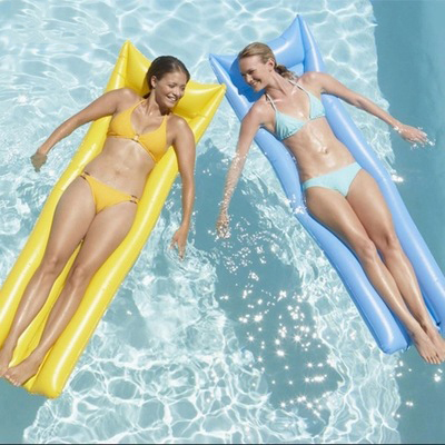 2017 NEW Floating bean bag on the water, relaxing inflatable air beanbag chair, also can used indoors keangel 2017 latest high quality brand new double floating row inflatable floating bed floating bed beach mat water cushion