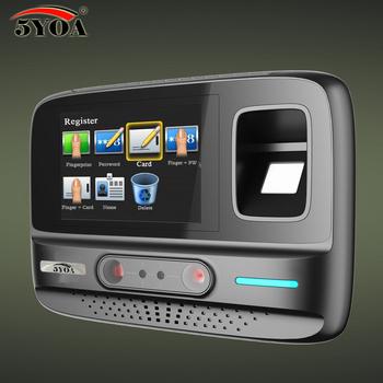 5YOA AF4 System zarządzania czas obecności twarzy hasło linii papilarnych biometryczny czas obecności urządzenie rozpoznawanie twarzy WIFI tanie i dobre opinie Biometric Time Recording fingerprint and face 3000 OEM ODM ATMEL 9G25 finger facial password OmniVision HD camera * 2