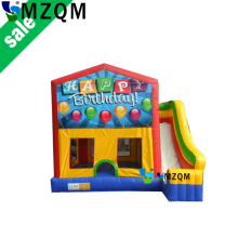 MZQM 2017 New Children Kids Bounce House Jumper Castle Inflatable Bouncer Without Blower funny gift commercial inflatable combo
