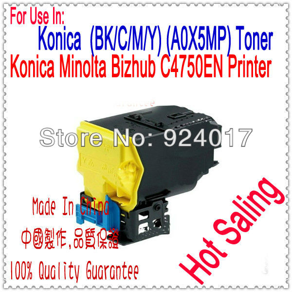 For Konica Minolta MagiColor 4750DN 4750EN 4790EN 4790DN 4795EN 4795DN Toner Cartridge,For Konica 4750 4790 4795 EN DN Toner toner reset chip for minolta magicolor 3730 eu