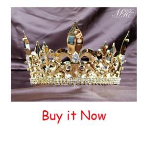 4c25880eb8 ჱLuksusowe księżniczka ślubne akcesoria ślubne do włosów pełna ...
