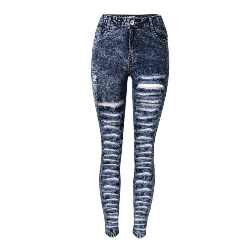 Blue Acid Wash Skinny Jeans Promotion-Shop for Promotional Blue