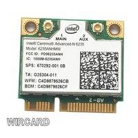 WIRCARD كمبيوتر محمول بطاقة الشبكة المحلية اللاسلكية إنتل سنترينو المتقدمة-N 6235 6235ANHMW 300 Mbps بطاقة واي فاي بلوتوث 4.0 نصف PCIe صغير