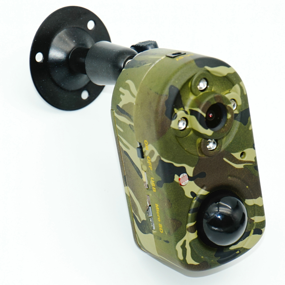 Full HD 1080P PIR Motion Sensor Trail Camera with High Sensitive Human Heat Sensor &#038; 940nm Infrared LED Light &#038; <font><b>Battery</b></font> Built-in