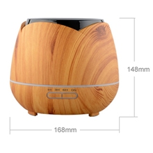400Ml Ultrasonic Humidifier Air Aromatherapy Diffuser For Home And Room Aroma Essential Oil Eu Plug
