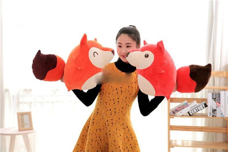 new lovely 50cm big soft cartoon fox plush toy 20 giant cute