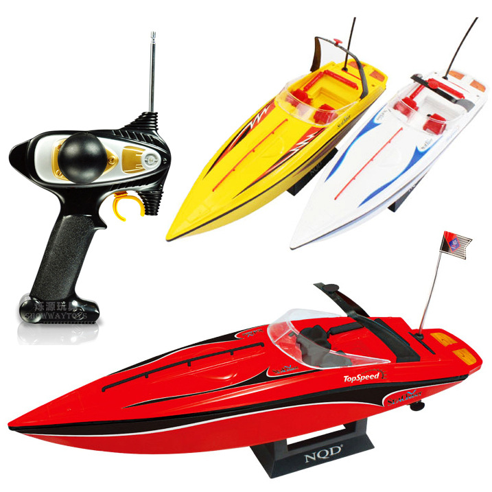 New Precision waterproof design High Speed Racing RC Boat XQD 757-4023 electric airship speedboat Navigation model toy vs HQ-956 skytech h100 2 4ghz 4ch automatic high speed racing boat waterproof rc boat electric boats for pools lakes outdoor adventure