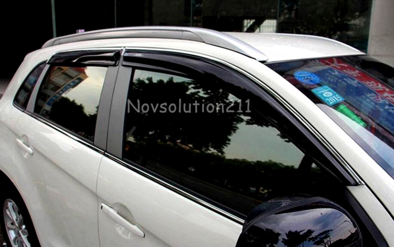 купить Silver Color Car Luggage Roof Rack Rails For Mitsubishi ASX 2013 2014 2015 2016 Car Styling Auto Accessories по цене 4528.63 рублей